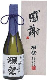 Amazon.co.jp: 獺祭(だっさい) 純米大吟醸 磨き二割三分 「感謝」木箱入り 720ml: 食品・飲料・お酒 (186915)