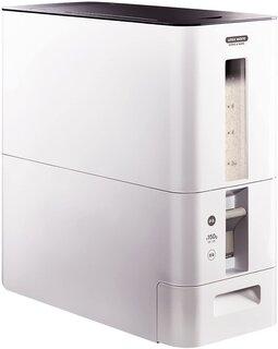 Amazon.co.jp : アスベル S計量米びつ12kg ホワイト 7528 : ホーム&キッチン (187622)