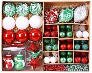 Amazon | better stars 北欧風 クリスマス オーナメント 超豪華 90個 セット (187855)