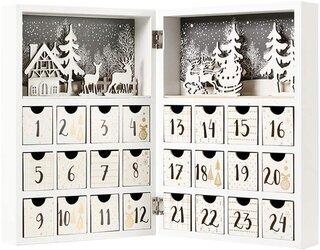 Amazon.co.jp: Christmas Advent Calendar 木製アドベントカレンダー (187954)