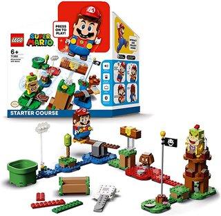 Amazon | レゴ(LEGO) スーパーマリオ レゴ(R)マリオ と ぼうけんのはじまり 〜 スターターセット 71360 (188155)