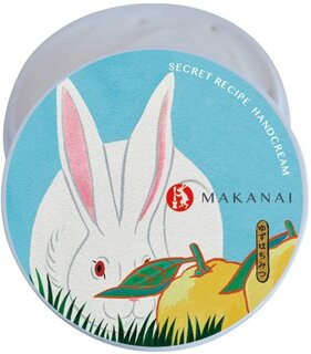 Amazon.co.jp: まかないこすめ 絶妙レシピのハンドクリーム(うさぎの壁画) ボディクリーム ゆずはちみつ 40g (188187)