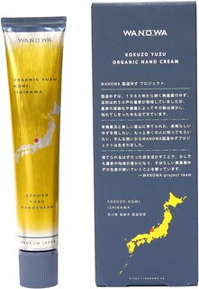 Amazon.co.jp: WANOWA オーガニック 国造ゆず ハンドクリーム Organic KOKUZO YUZU Hand Cream ワノワ 和の環 (188188)