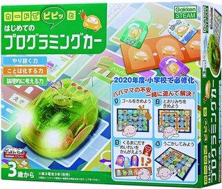 Amazon | カードでピピッと はじめてのプログラミングカー【日本おもちゃ大賞2018エデュケーショナル・トイ部門 大賞】 | プログラミング・ロボティクス | おもちゃ (188337)