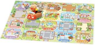 Amazon | アンパンマン はじめてプログラミング! どの道とおる?アンパンマンドライブカー 83×100×130mm | おもちゃ | おもちゃ (188339)