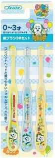 Amazon.co.jp: スケーター 歯ブラシ 乳児用 0-3才 毛の硬さ普通 3本組 いないいないばあ 15 TB4T: ホーム&キッチン (188609)
