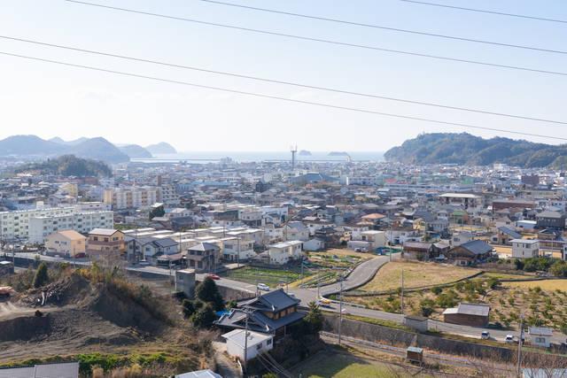 和歌山県湯浅町の町並み。