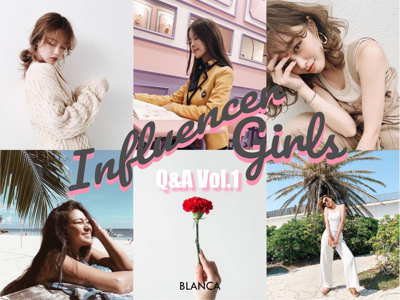 Influencer Girls  Vo.1