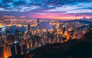 香港旅行〜念願の三大夜景と尖沙咀(チムサーチョイ)〜