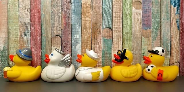 Rubber Ducks Bath Fun - Free photo on Pixabay (4636)