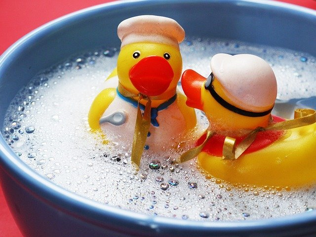 Bath Splashing Ducks - Free photo on Pixabay (6355)