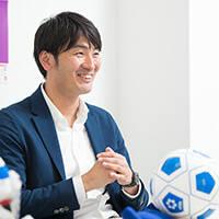 山本 康太(NPO法人日本ブラインドサッカー協会 事業戦略部 部長)