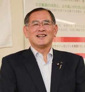 株式会社マルヤナギ小倉屋・代表取締役 副社長 柳本勇治氏