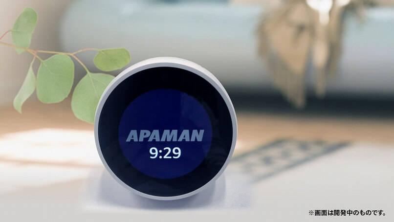 現在開発中のAlexaスキル「APAMAN(仮)」