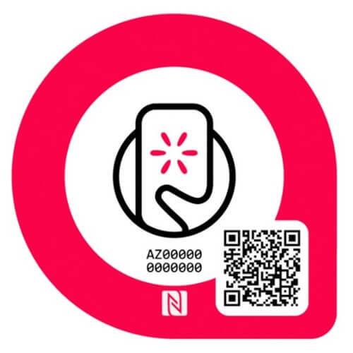 ※NFCタグスマートプレート