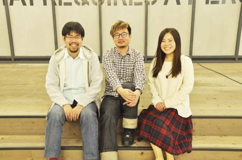 ※タレンティオの経営メンバー。右から高倉氏(COO)、佐野氏(CEO)、小川氏(CTO)