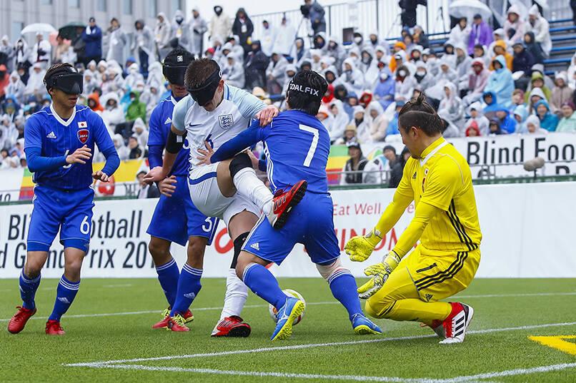 提供:日本ブラインドサッカー協会