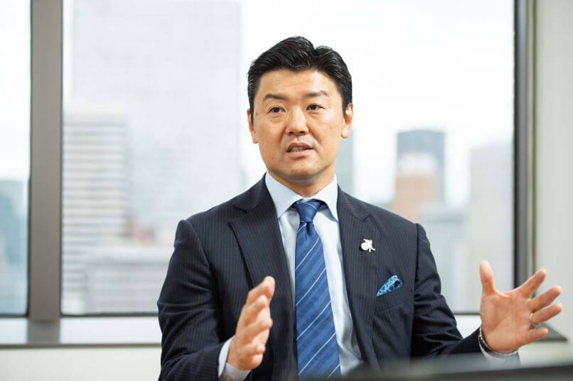 株式会社阪急阪神ポイント代表取締役 敷島孝司氏