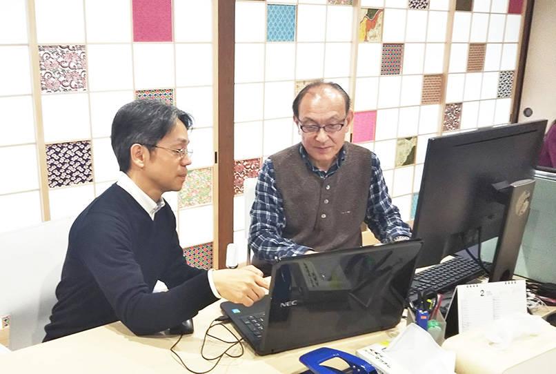 「若い社員の方に『お父さんみたい』なんて言ってもらるような職場の雰囲気作りを心がけています」と森村さん。