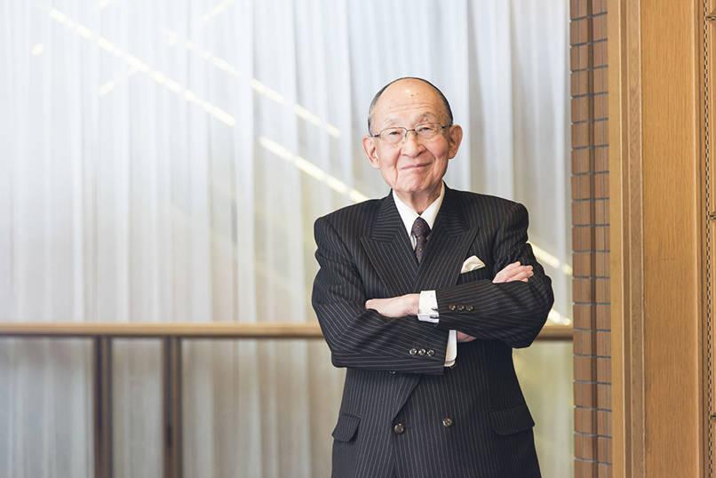日本生産性本部会長 茂木友三郎氏