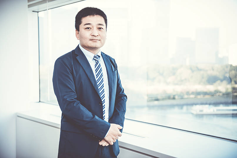 東京電力エナジーパートナーの竹村和純氏