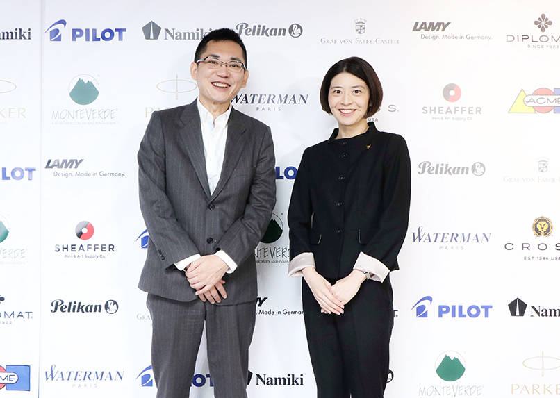 「ハートラインプロジェクト」実行委員の新藤美奈子(右)さんと赤堀剛(左)さん