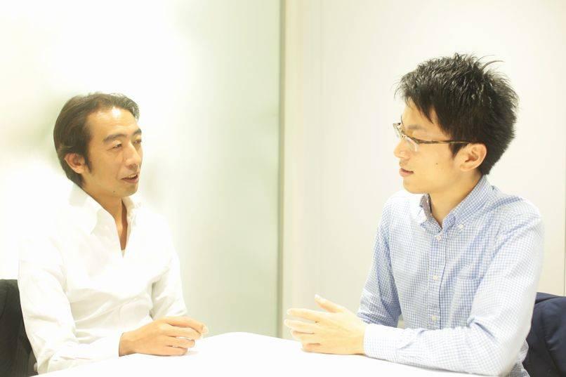 左:Original Point株式会社 取締役 犬尾 裕史氏  右:Original Point株式会社 代表取締役 高橋 政成氏