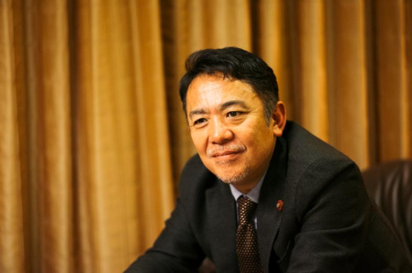 カイタックインターナショナル 加賀正稔副社長