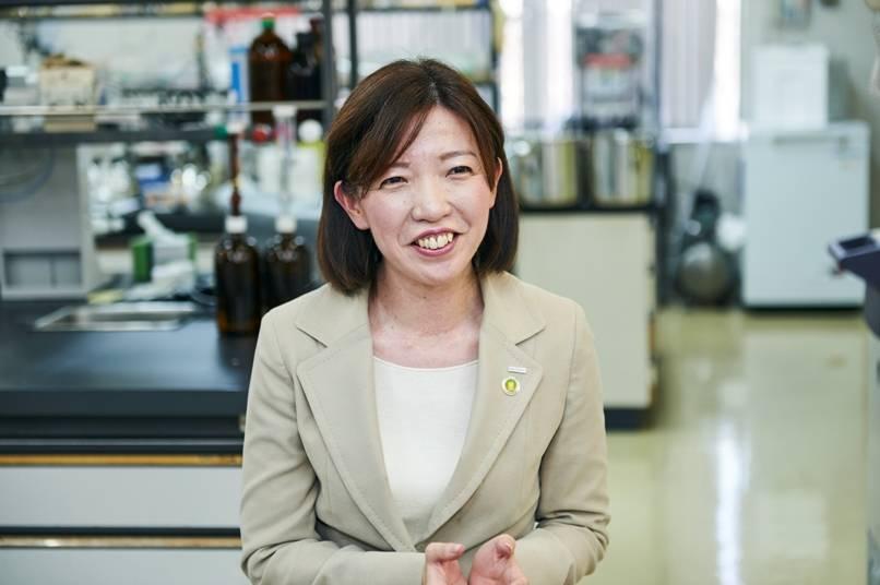 大豆・チルド事業本部課長代理 武田吏加さん