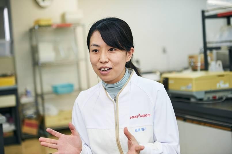 研究開発グループ主任 迫田明子さん