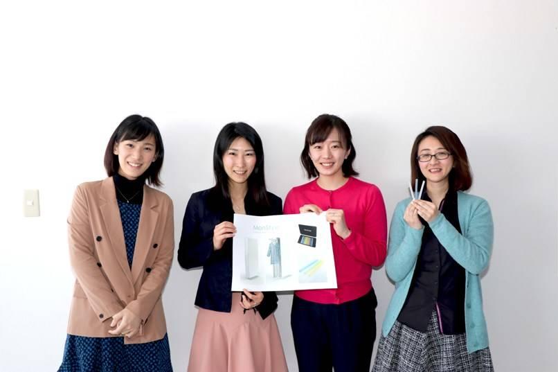 左から大倉さおりさん、秦枝里子さん、安藤真理子さん、大野はるかさん