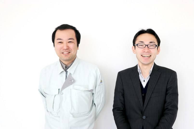 プロジェクトのメインメンバーの超智和弘さん(左)と海蔵博之さん(右)