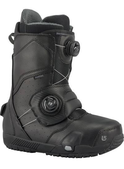 "【Step On】Boots ""Photon"" (Black)"