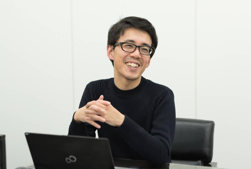 アプリ開発チームの北野さん(NTTドコモより出向)