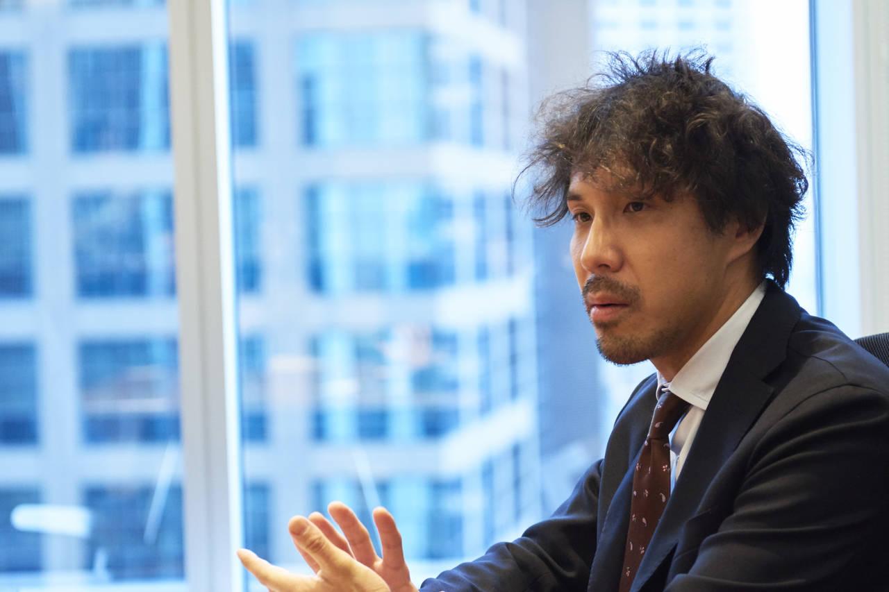 NifMo事業を担当する ネットワークサービス部の鈴木洋祐さん