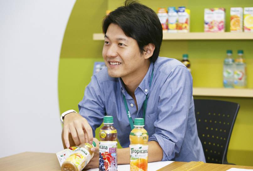 キリン・トロピカーナ 商品開発部 小山貴弘さん