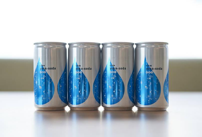 新たな炭酸水のスタンダード「yosa-soda」