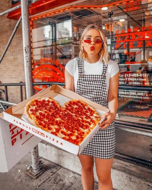 NYでお目立ち!特別なピザの頼みかた♡