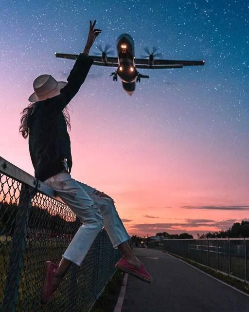 【THE GENIC Vol.176】飛行機を見上げたワクワク度満点写真!おすすめスポットも!