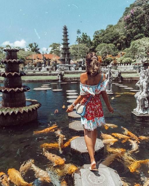 【THE GENIC Vol.218】バリ島の水の宮殿にKOIして♡
