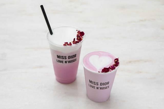 ディオールのカフェも特別オープン♡愛の香り「ミス ディオール」の 展覧会が開催