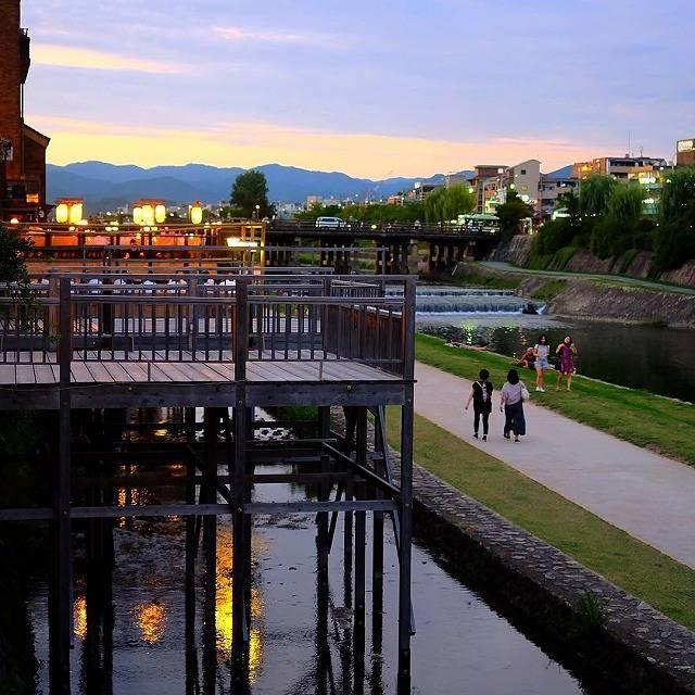 鴨川納涼床で夏を感じよう♡京都に行くなら絶対チェックして!