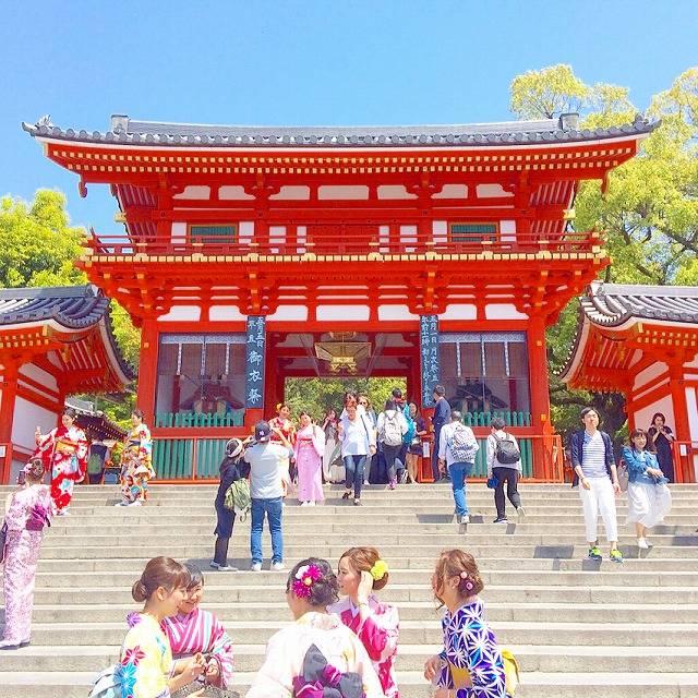 京都を観光するなら八坂神社へ!周辺にもおすすめスポットがいっぱい♡