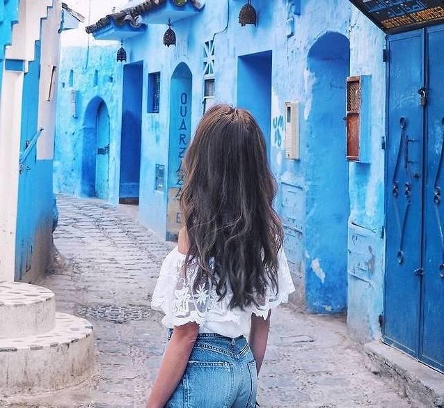 死ぬまでに絶対行きたい! モロッコの青い街「シャウエン」が美しすぎる♡