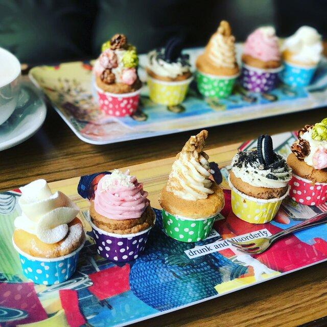 【全国GENICカフェ47】キュート写真に必須のカップケーキ♡和歌山県グランプリ店!