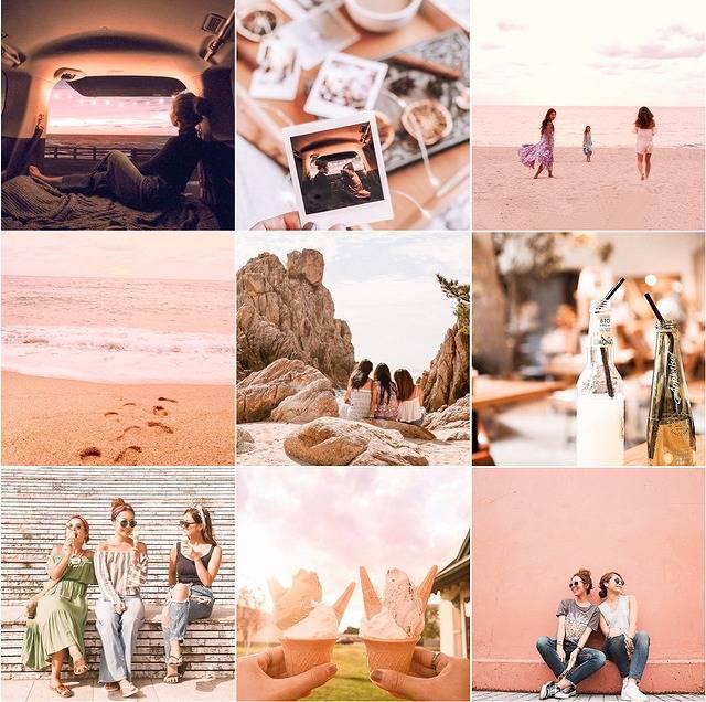 写真をピンクに加工するやり方!インスタのギャラリーをピンクで統一する人増えてます