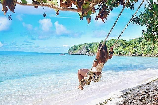 沖縄にあるシークレットビーチのブランコも♡想像を超える海の絶景ツアーレポ