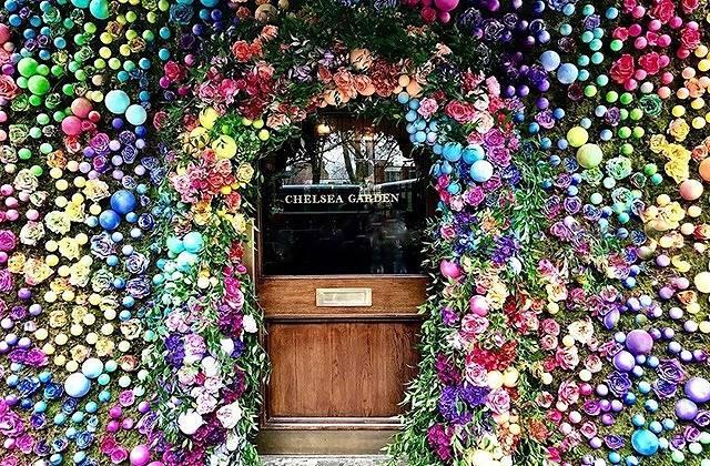 世界中の女の子がメロメロ♡ロンドンのお花カフェがキテる!