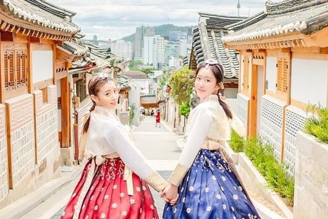 秋の韓国旅行におすすめ♡ライトアップされた古宮でチマチョゴリ体験
