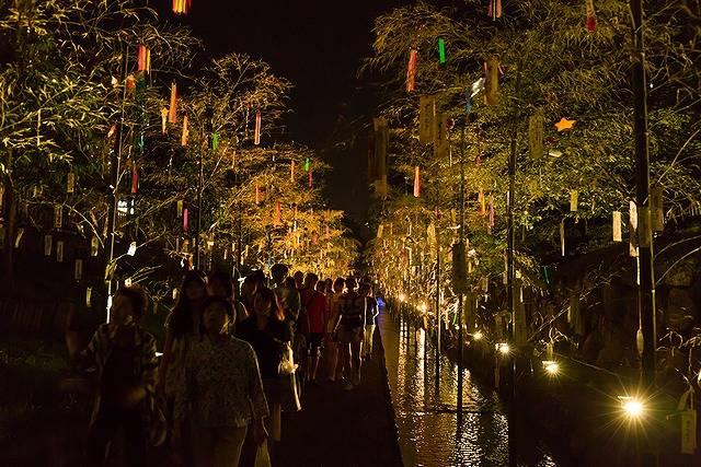 浴衣を着て幻想的な京都の星空に願い事を届けに行こう!